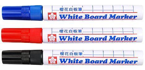 SAKURA櫻花牌LWBK白板筆(12入/盒)
