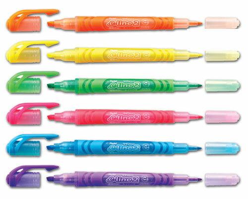 PENTEL 飛龍牌SLW10雙頭螢光筆