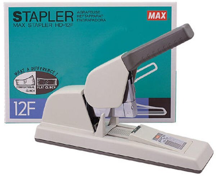 MAX-HD-12F釘書機