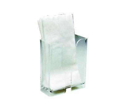 壓克力餐巾紙架2510(小型型錄架)10.2X4.5X12cm
