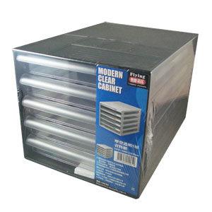 摩登透明五層效率櫃 BB-10050