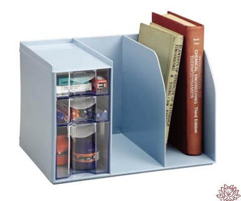 H301 創新書架整理盒 內附文具整理盒