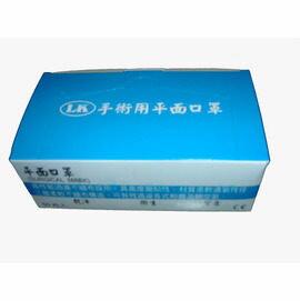 臺灣製不織布三層口罩顏色隨機出貨(50入/盒)