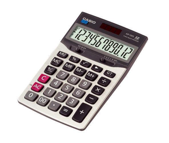 CASIO AX-120S商用計算機