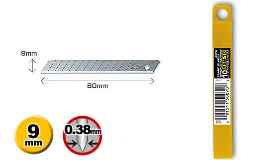OLFA小型美工刀片ASB-10(10片裝)