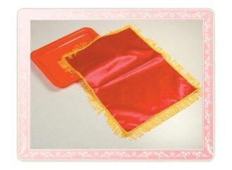 【開幕彩球用品】87B2-0 盤子+紅布(加穗)