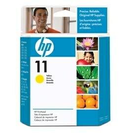 HP C4813A NO.11 黃色相片原廠墨水匣