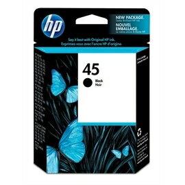 HP 51645A NO.45 黑色原廠墨水匣