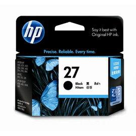 HP C8727A NO.27 黑色原廠墨水匣