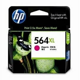 HP CB324WA NO.564XL 大容量 相片紅色原廠墨水匣