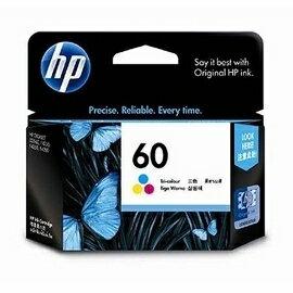 HP CC643WA NO.60號 彩色原廠墨水匣