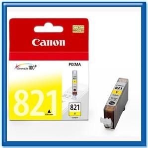 振詮文具房:CANONCLI-821Y原廠墨水匣(黃色)