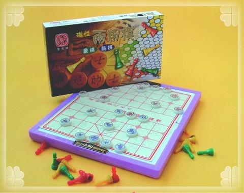 振詮文具房:雷鳥LT磁性兩用棋.(跳棋.象棋)