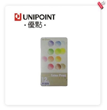 優點 U12C 鐵盒(油性)色鉛筆 - 12色入