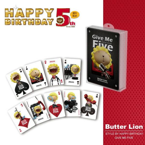 奶油獅5週年大撲克牌【5歲生日慶-限量】