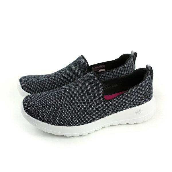 SKECHERSGOWALKJOY懶人鞋休閒布鞋女鞋黑色15609BKWno795