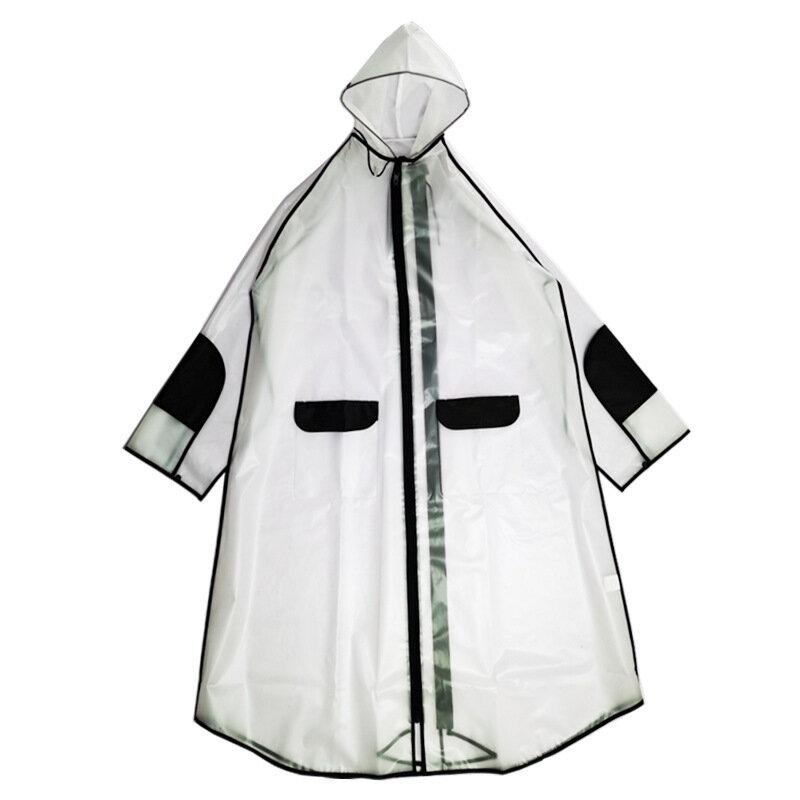 EVA時尚透明多用成人男女學生雨衣電動自行車徒步防暴雨騎行雨披