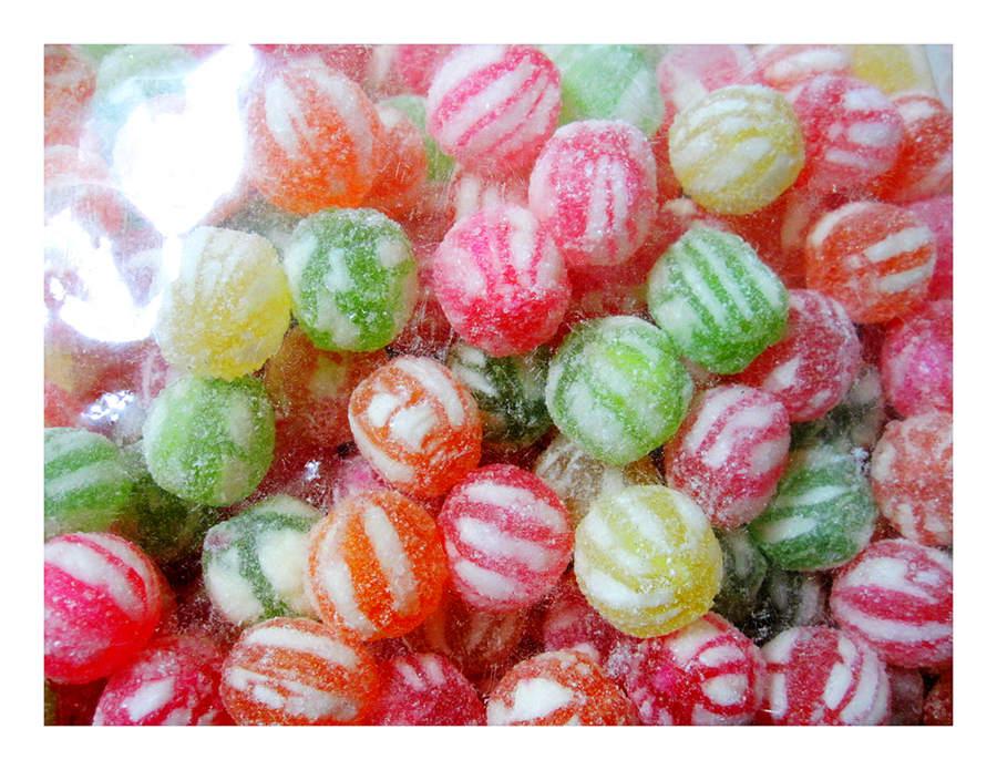 散糖硬糖區‧ 日式金柑糖/金甘糖/糖甘仔粒 300g(半斤) 【合迷雅好物商城】