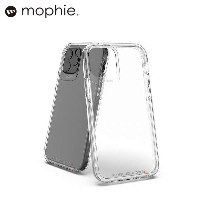 mophie軍用級晶透防摔蘋果手機殼 iPhone 12系列 保護殼套 4米防摔認證 D3O材料技術 防指紋抗變黃