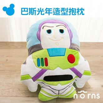 NORNS 【巴斯光年造型抱枕】12吋娃娃玩偶 靠墊 Q版Buzz 玩具總動員pixar 迪士尼 disney