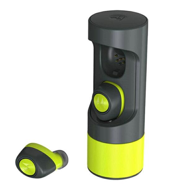 鑫晨汽車百貨:MotorolaVerveOnes+MusicEdition檸檬黃公司貨附發票防水真無線藍牙耳機