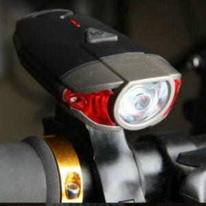 美麗大街【ML106082422】山地車自行車燈USB充電自行車前燈雙用頭盔燈高亮照明燈