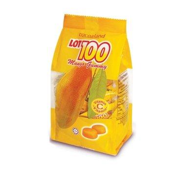 一百份 芒果QQ糖(馬來西亞熱銷芒果軟糖)