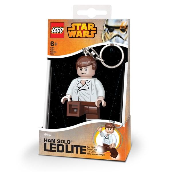 【 樂高積木 LEGO 】LED 鑰匙圈 - 星際大戰 -韓索羅