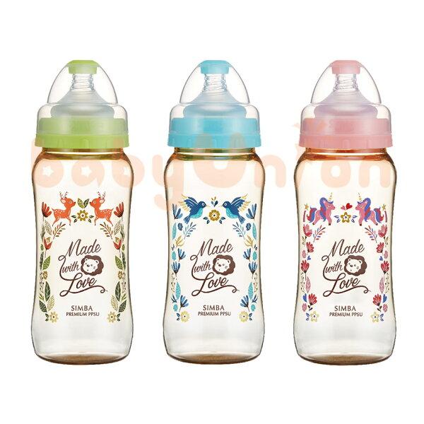 Simba小獅王辛巴-桃樂絲-PPSU寬口葫蘆大奶瓶360ml