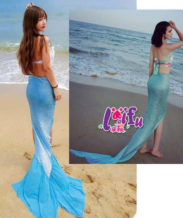來福魚尾,V203魚尾美人魚尾拍照聖品藝術照可搭泳衣,單尾巴售價449元