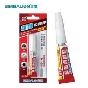 SIMBALION雄獅 GU-101 液狀 瞬間膠/ 3g