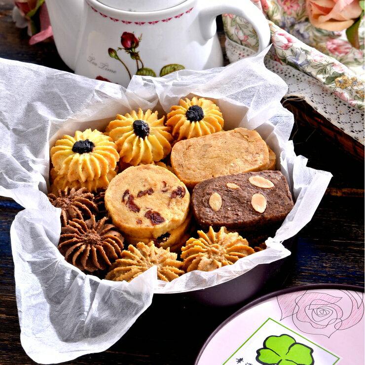 綜合手工餅乾︱手工製作︱6吋圓紙盒*5盒︱多種口味