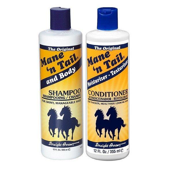美國Mane'n tail 箭牌馬用 經典 洗髮精/潤絲精 355ml 12oz/瓶◆德瑞健康家◆