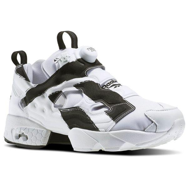 REEBOK INSTA PUMP FURY OB 男鞋 女鞋 熊貓 慢跑鞋 充氣 白黑 【運動世界】 AR1413