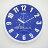 FUTABA-0718 時尚教堂3D立體凸字掛鐘 4