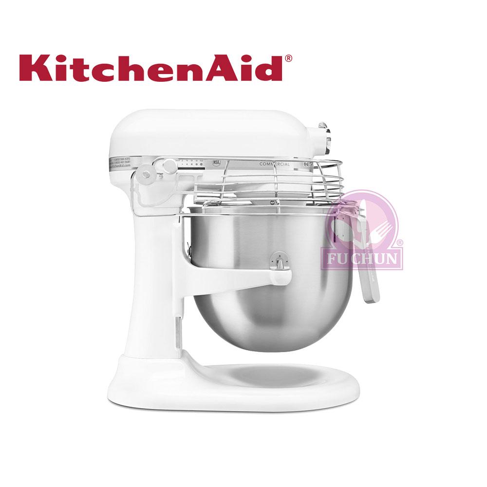 【KitchenAid】 8Qt 升降式攪拌機 (白色 ) 7.5L