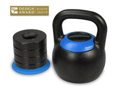 XOANON 洛恩耐運動健身 KB-24G 可調式壺鈴 5段式調重壺鈴 16公斤、18公斤、20公斤、22公斤、24公斤 kettlebell 重量訓練 好收納 省空間