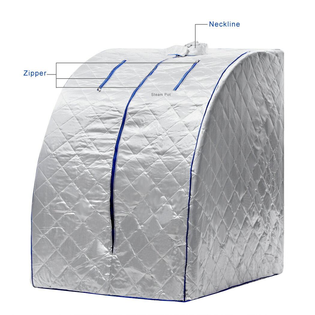 Portable Steam Sauna SPA Therapeutic Slim Weight Loss Indoor Health Care 1