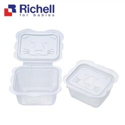 Richell利其爾 - 卡通型離乳食分裝盒 50ml/10入