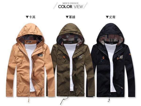 ☆BOY-2☆【NQOS8801】美式連帽軍裝外套 2