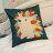 彩虹刺蝟抱枕  棉麻材質   45cmX45cm 花色獨特 觸感扎實 0