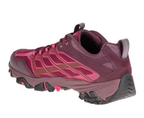 【單筆滿3000元>憑優惠券代碼B7NH-EAUI-TLBS-JXSZ。現打9折│全店10倍點數】MERRELL MOAB FST GORE-TEX 暗紅 女 健行鞋│休閒鞋│運動鞋 2