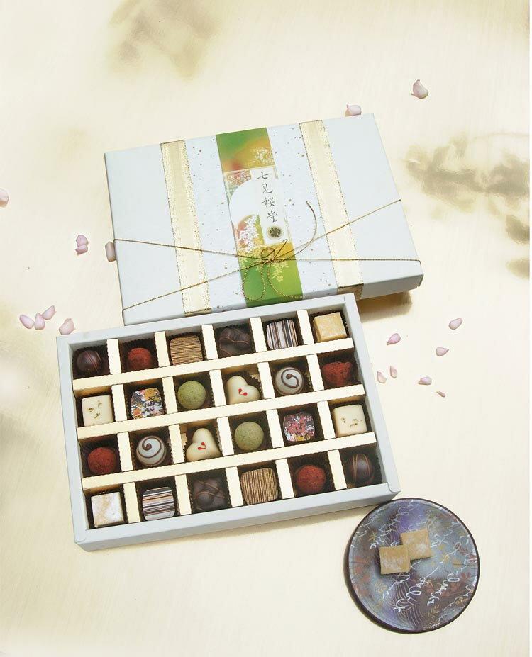 七見櫻堂經典口味大集合!【七見櫻風巧克力24入禮盒】