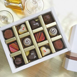 七見櫻堂 酒風巧克力12入禮盒 0
