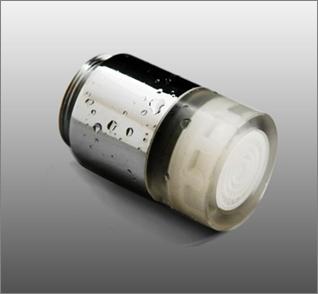 LED溫控水龍頭