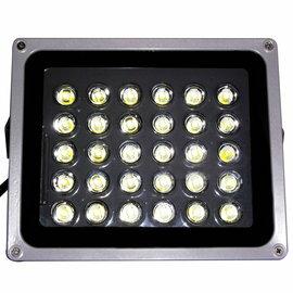 【高功率防水型LED投射燈30W】台灣製造/白光/暖白光
