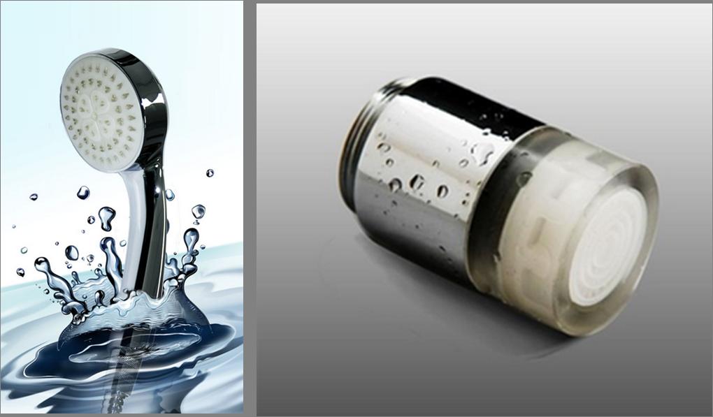 溫控蓮蓬頭 + 溫控水龍頭