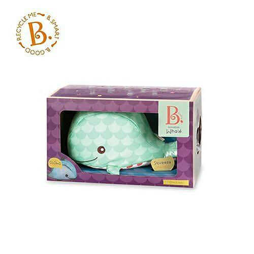 《美國B.toys感統玩具》安撫鯨威利