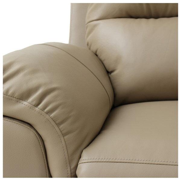 ◎半皮1人用電動可躺式沙發 N-BEAZEL MO NITORI宜得利家居 6