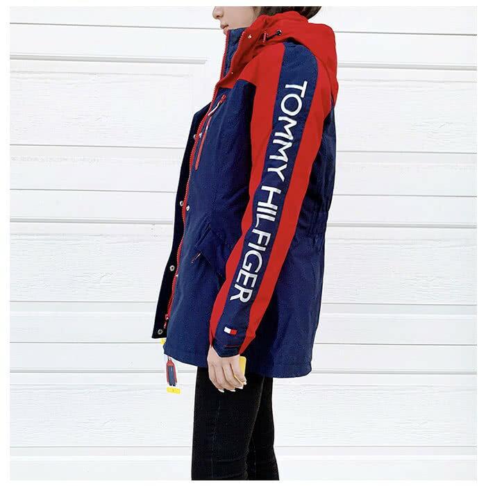 IMPACT Tommy Hilfiger 3in1 白 紅 藍 外套 雙層 大衣 鋪棉 風衣 防潑水 1306142